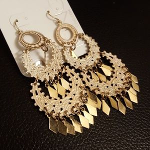Ornamental Dangle Earrings